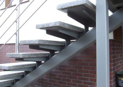 schody granit wiszące gdańsk